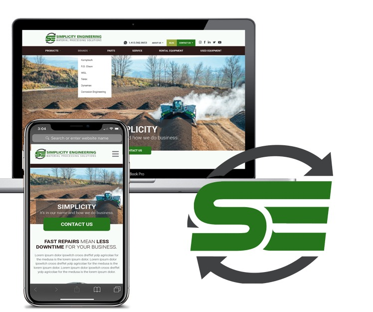 The Northeast's Premier Dealer For Material Processing Equipment Launches A New Website Focused On Customer Needs